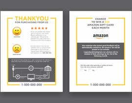 #14 untuk make me a Feedback flyer for my amazon orders oleh meenapatwal