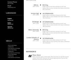 #23 for design resume (simple) by Shiyahassen
