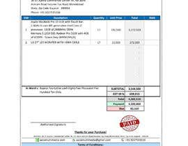 #27 para Build me a purchase order format with GST and HNS Details por moshiur5124