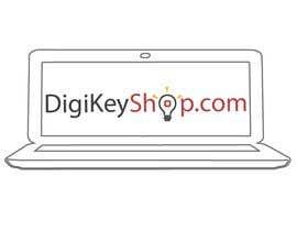 nº 109 pour Logo for DigiKeyShop.com par ZyadHaq