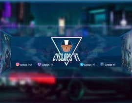 #29 untuk Make a YouTube logo and banner for my gaming channel oleh AmryRamadhan
