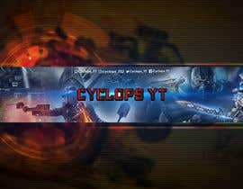 #26 untuk Make a YouTube logo and banner for my gaming channel oleh SONIATABASSUM
