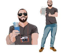 #12 untuk Edit a vector of me oleh Muhsultan
