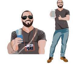 #16 untuk Edit a vector of me oleh Muhsultan