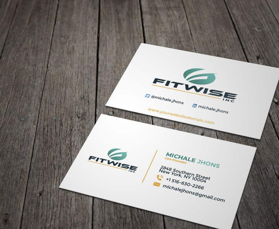 Konkurrenceindlæg #59 for Business card