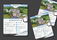 Bài tham dự #122 về Graphic Design cho cuộc thi Custom one page Professional Brochure for Real Estate Company