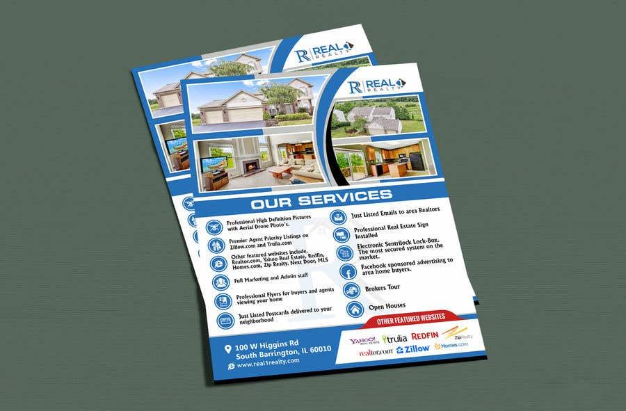 Bài tham dự cuộc thi #176 cho Custom one page Professional Brochure for Real Estate Company