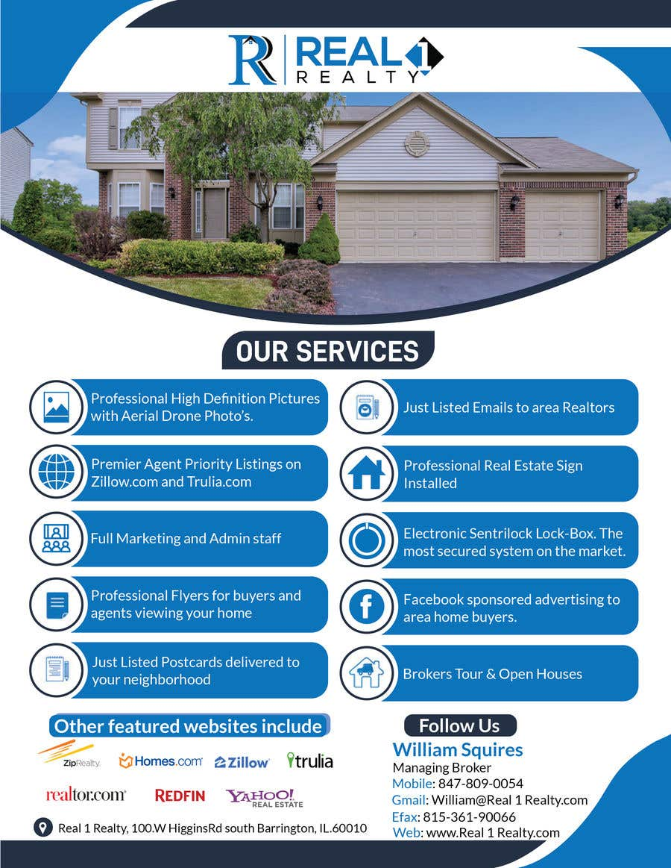 Bài tham dự cuộc thi #75 cho Custom one page Professional Brochure for Real Estate Company