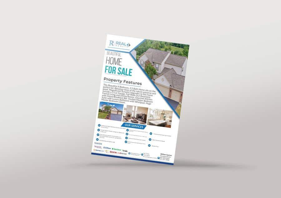 Bài tham dự cuộc thi #28 cho Custom one page Professional Brochure for Real Estate Company