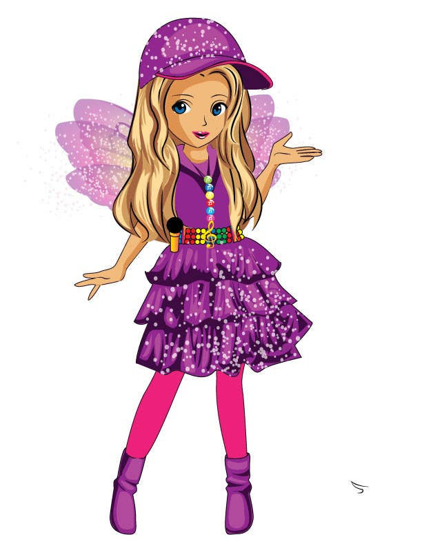 Cartoon Character Design Contest : Entry by qshahnawaz for character design a cute kids