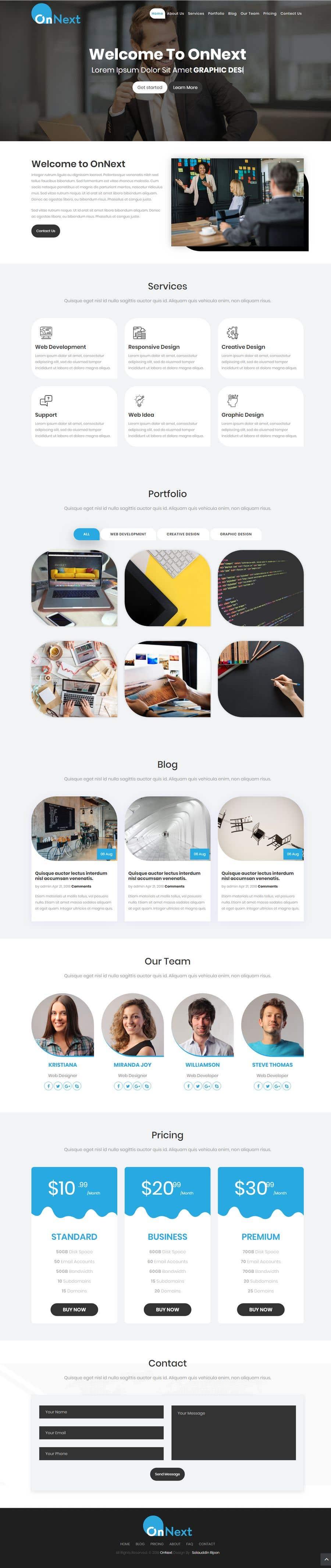 Konkurrenceindlæg #37 for Build me a website