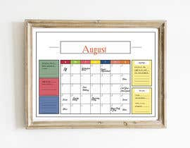 #57 cho Design Calendar Section / Notes Section For a Home Dry Erase Whiteboard bởi SiddharthBakli