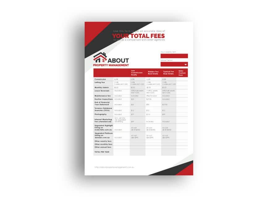 Penyertaan Peraduan #25 untuk Design a professional PDF document