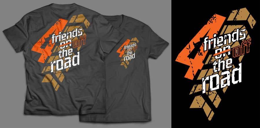 Penyertaan Peraduan #88 untuk Design a T-Shirt for offroad motorbike