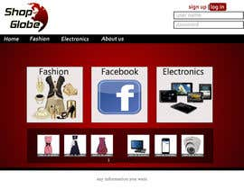 #6 for Landigpagedesign for shop-globe.com af ibrahim4