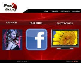 #3 for Landigpagedesign for shop-globe.com by vanikrishna