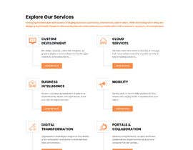 #86 untuk Word Press Home Page design -   Softura.com oleh kaizendesigns
