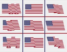 #53 untuk United State Of America flag oleh sajeebhasan177
