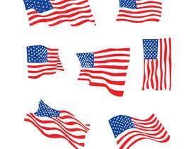 #57 untuk United State Of America flag oleh sajeebhasan177
