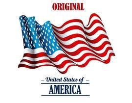 #60 untuk United State Of America flag oleh sajeebhasan177