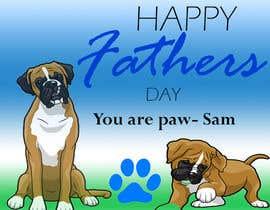nº 25 pour Fathers Day Graphic for Card par vna56a61a57a545c