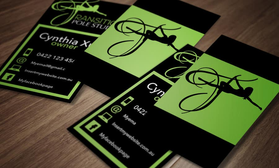 Entry #45 by Attebasile for Design some Business Cards for Pole ...