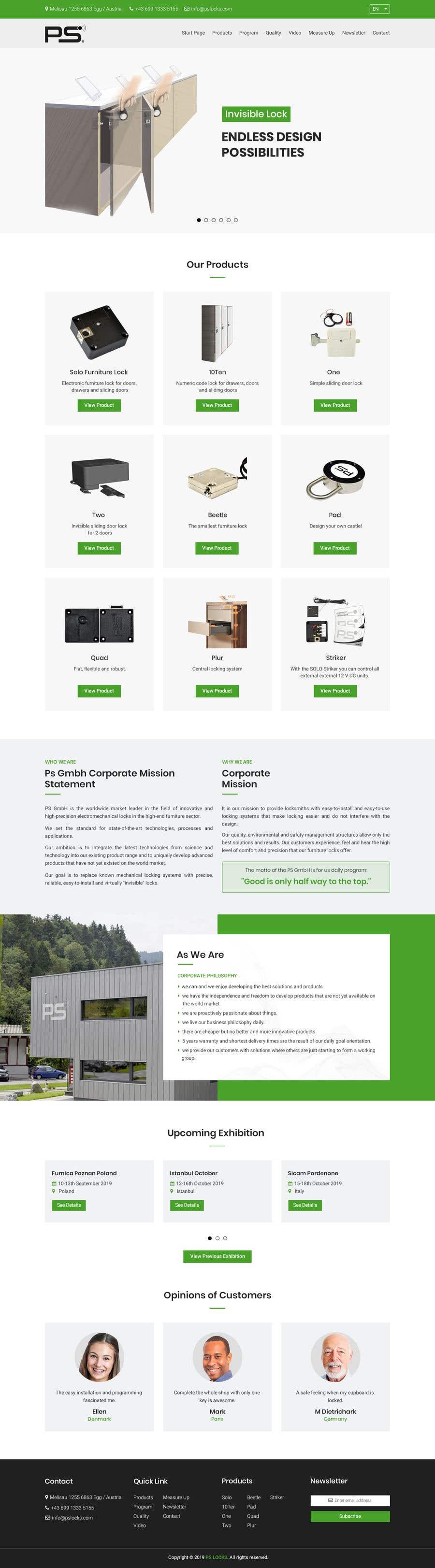 Конкурсная заявка №86 для Design a new website and catalogue - Just a general design