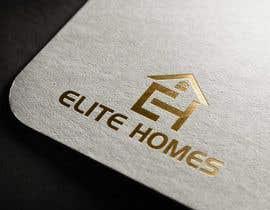 nº 192 pour Elite Homes Logo Design par munsurrohman52