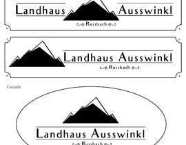 #16 untuk Design eines Schildes oleh kistedesigns