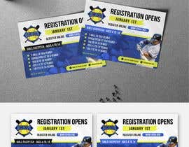 #11 cho Softball Registration Sign Design bởi bartolomeo1