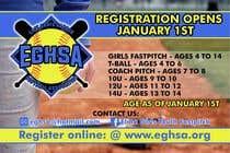 Proposition n° 10 du concours Graphic Design pour Softball Registration Sign Design