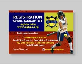 #17 cho Softball Registration Sign Design bởi mtjobi