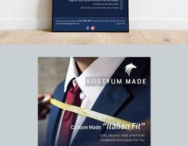 nº 10 pour Poster Design - Custom Suits par Sandipan01