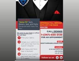 nº 6 pour Poster Design - Custom Suits par Omorspondon