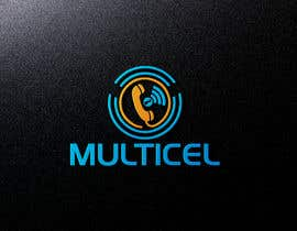 #16 untuk I need a logo for a telecommunications company that sells cellphones service contracts and retail and wholesale of this devices . The name of the company is multicel. oleh heisismailhossai