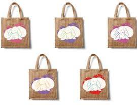 #203 untuk Rabbit Themed Hemp Shopper Bags oleh barbarakoncz