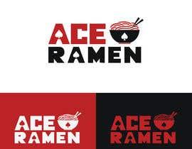 "zahidhasan201422 tarafından Create a new Japanese Ramen restaurant logo called ""ACE RAMEN"" için no 334"