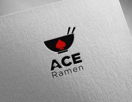 """#310 for Create a new Japanese Ramen restaurant logo called """"ACE RAMEN"""" by Mansourjahfal"""