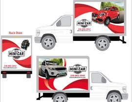 #41 for BOX TRUCK WRAP DESIGN by oneweydesigns
