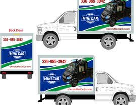 #20 for BOX TRUCK WRAP DESIGN by Win112370