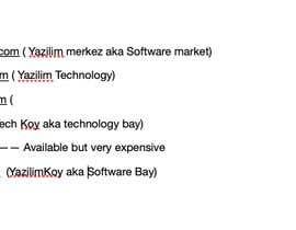 nº 17 pour Find a name for my new company par sullyatj