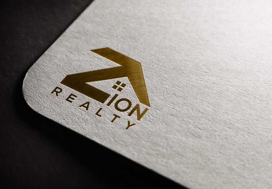"""Penyertaan Peraduan #439 untuk Logo for """"Zion Realty"""""""
