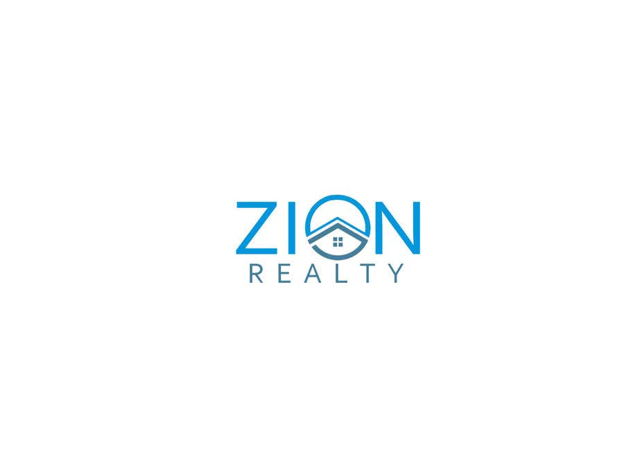 """Penyertaan Peraduan #355 untuk Logo for """"Zion Realty"""""""