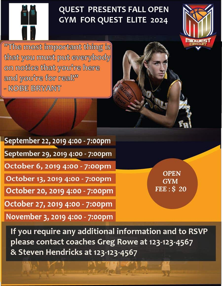 Contest Entry #50 for Basketball Flyer