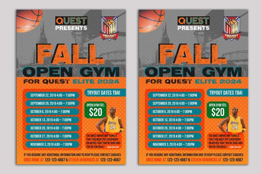 Конкурсная заявка №31 для Basketball Flyer