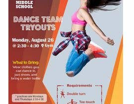 #29 cho Dance team tryout flyer bởi msharma2409