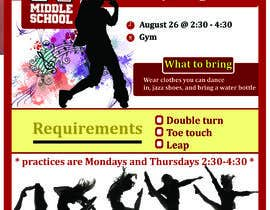 #16 cho Dance team tryout flyer bởi ashrafmahmud536