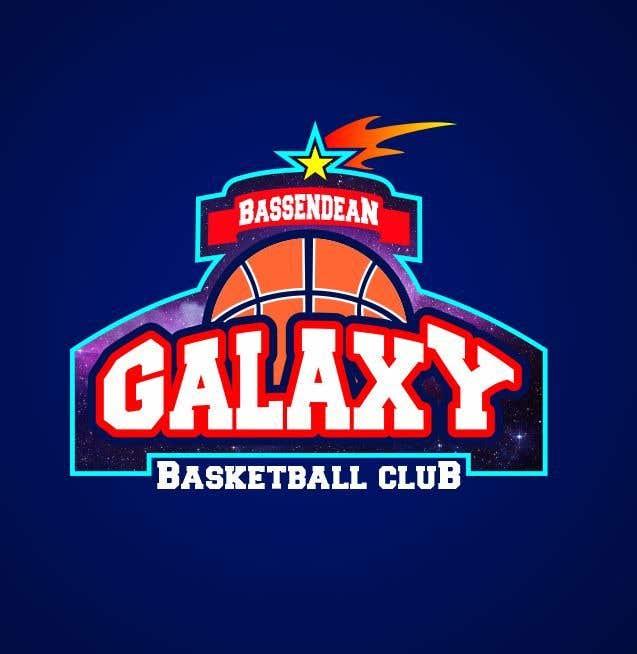 Kilpailutyö #7 kilpailussa Bassendean Galaxy Basketball Club logo
