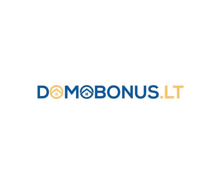 Contest Entry #132 for Domobonus.lt logo