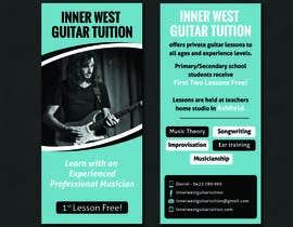 #32 cho Design a flyer for guitar tuition bởi SarahDar